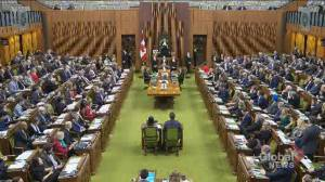 Laughter over question on rail blockades prompts stern rebuke from Conservatives