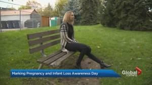 Marking Pregnancy and Infant Loss Awareness Day (03:40)