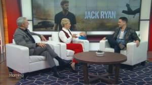 Canadian actor Allan Hawco talks Jack Ryan Season 2 (05:04)