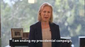 Senator Kirsten Gillibrand drops out of race for Democratic presidential nomination
