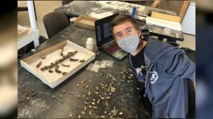 USask paleontology student unearths ancient species in southern Sask. (04:10)