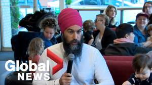 NDP would let new parents condense full EI benefits over shorter leave: Singh