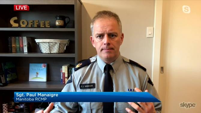 Click to play video: RCMP on monitoring Manitoba churches and public health order enforcement