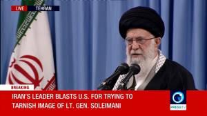 "Iran Supreme Leader calls missile attack ""a slap in the face"" to America"