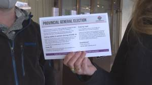 Penticton voters react to pandemic B.C. election (01:31)