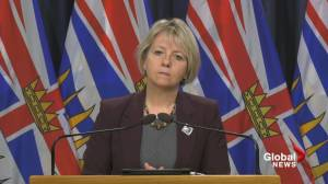 If COVID-19 numbers get down to 'reasonable level', restrictions in B.C. could ease slightly (03:52)