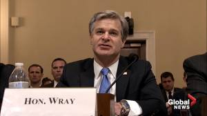 Wray says FBI has over a thousand investigations of theft of U.S. based technology leading back to China