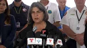 Remains of 10 more individuals recovered at site of collapsed condo building in Surfside, Fla. (02:25)