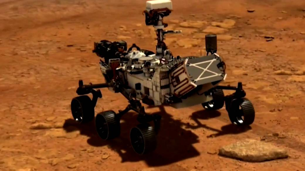 Click to play video 'NASA's Perseverance rover hoping to land on the surface of Mars'
