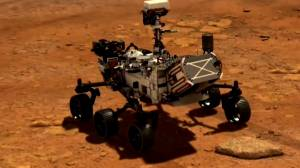 NASA's Perseverance rover hoping to land on the surface of Mars (01:48)