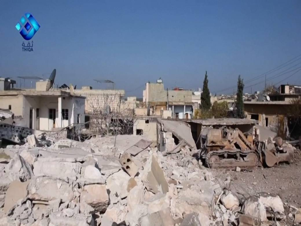 At least 4 dead after airstrikes hit northwest Syria