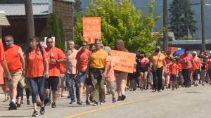 More than 250 attend Splatsin Every Child Matters March (02:14)