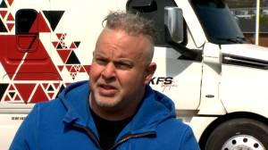 Halifax man looking for trucking job to get travel exemption to see dying mother (01:57)