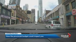How the Ontario budget could impact you (01:55)