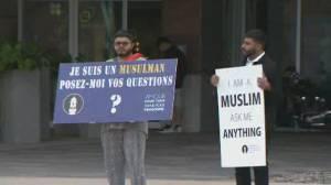 Muslim group tours N.B. to fight Islamophobia (01:53)
