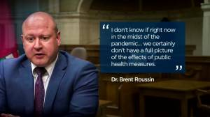 Manitoba's top doc testifies in court challenge to his authority Friday (01:39)