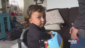 Edmonton family asks province to fund life-saving, multi-million-dollar drug for toddler