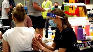 New Brunswick COVID-19 vaccine progress positive but top doc remains cautious (01:51)