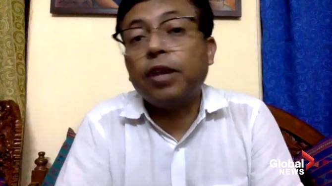 Click to play video: 'Complacency' responsible for COVID-19 crisis in India, says doctor