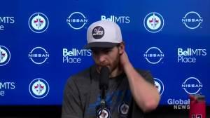 RAW: Jets' Adam Lowry – Jan. 24 (03:18)