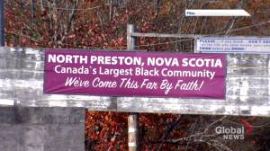 Legislation to accelerate land title claims in historic African Nova Scotian communities (01:46)