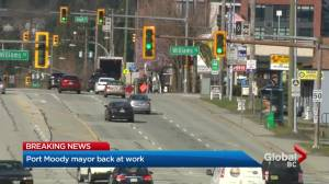 Port Moody mayor back at work after sexual assault charges