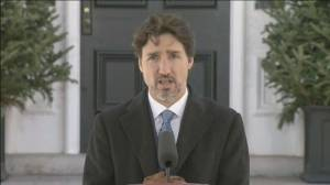 Coronavirus outbreak: Trudeau stresses masks do more to protect others than the wearer