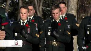 No Stone Left Alone remembrance ceremony honours Canada's fallen military members