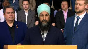 Federal Election 2019: Singh says Liberals can't be trusted to keep net-zero emissions pledge