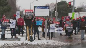 1-day strike held by Ontario high school teachers and support workers