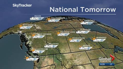 Edmonton weather forecast: Feb. 23   Watch News Videos Online