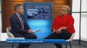 A deeper look: the impact of the Theriault trial