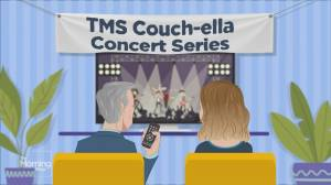 TMS Couchella: Josh Groban performs 'The Impossible Dream' from his new album (03:48)