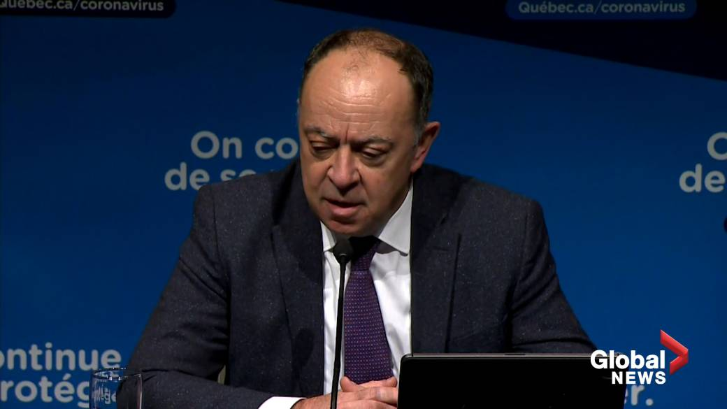 Click to play video: 'Quebec to start vaccinating residents age 60 and over against COVID-19, says health minister'