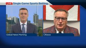 Single game sports betting soon to be legal in Canada (04:03)