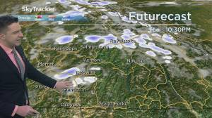 Kelowna Weather Forecast: March 9 (03:30)