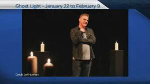 Ghost Light runs Jan 22 to Feb 9 at Prairie Theatre Exchange