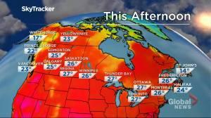 Winnipeg weather outlook: July 13 (01:31)