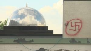 Mosque vandalized in east Edmonton (01:13)
