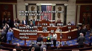 U.S. House votes overwhelmingly in favour of resolution condemning Trump's withdrawal from Syria