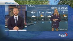 Global News Morning weather forecast: Monday, October 26, 2020 (01:41)