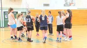 Holy Cross Crusaders believe they can medal at the OFSSA girls basketball championships