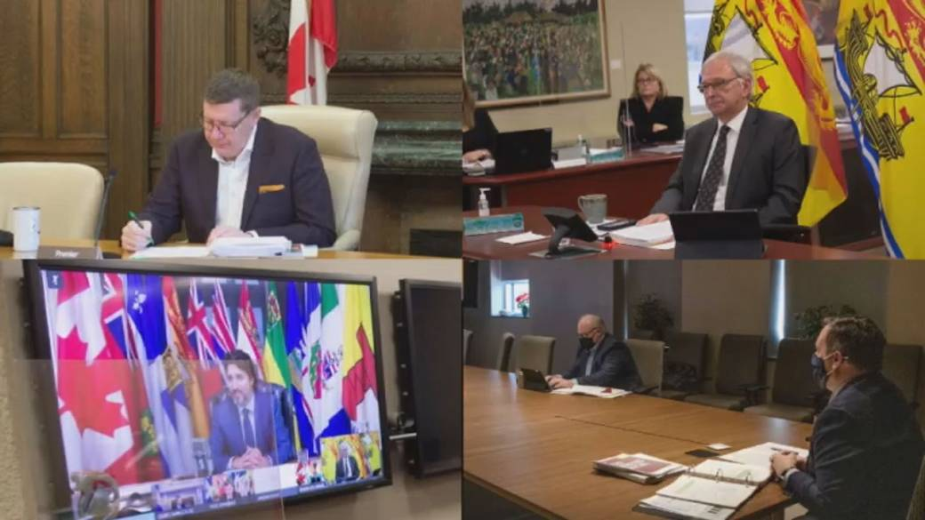 Click to play video 'First Ministers meeting focuses on health care funding, vaccine rollout'