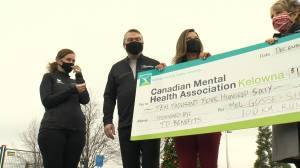 100 km run in Okanagan nets $10K for mental health (01:16)