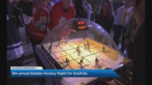 SickKids' 5th annual Bubble Hockey Night
