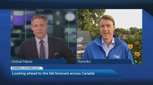 Looking ahead to the fall forecast across Canada (03:52)
