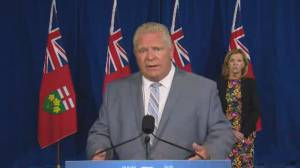 Coronavirus: Ford calls on all Ontarians to get flu shot as province prepares for COVID-19 second wave