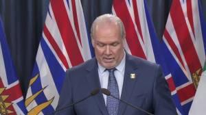Premier John Horgan announces funds to help B.C. businesses grow online (03:46)
