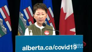 Alberta struggling with 'workforce' issues in health-care system amid COVID-19 surge (01:48)