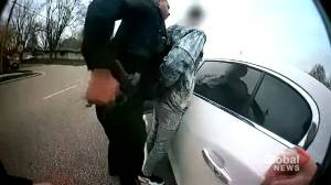 Bodycam footage released of Minnesota police shooting of Daunte Wright (01:06)